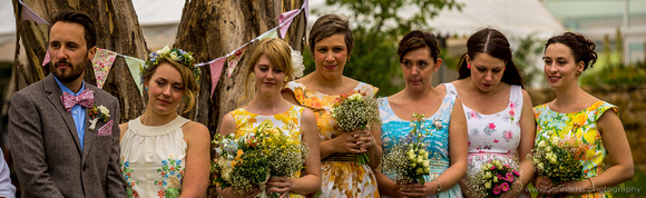 canberra wedding - groom, bride, bridesmaids