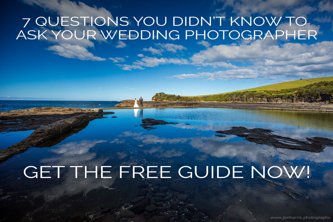 7 questions you didn't know to ask your wedding photographer