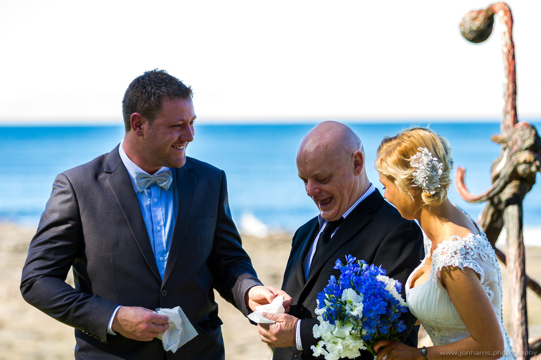 "wedding bride groom Gerringong ""South Coast"" beach ""Boat Harbour"""